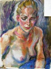 Portrait of Amy no. 2 - click here to see an enlargement