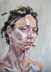 Portrait of Emma - click here to see an enlargement