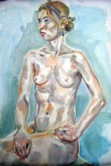 First oil painting, (life study) - click here to see an enlargement
