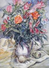 Still Life Flowers no. 4 - click here to see an enlargement