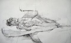 Pencil study Maria J. - click here to see an enlargement