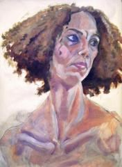 G.P... Portrait of Maria J. - click here to see an enlargement