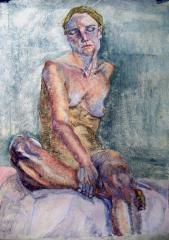 Maria B. seated - click here to see an enlargement