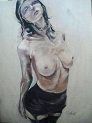 Naughtie Girl (from Popstars & Models) - click here to see an enlargement