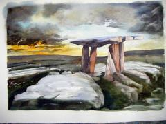 Megalith no. 1 - click here to see an enlargement