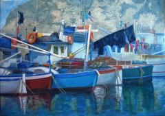 Sorrento Boats - click here to see an enlargement