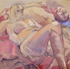 Two Models Reclining - click here to see an enlargement