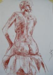 RC Ten Minute Sketch Nude no.1 - click here to see an enlargement