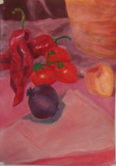 Red Still Life - click here to see an enlargement