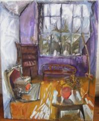 Painting of Studio. 1st photo - click here to see an enlargement