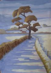 Winter landscape - click here to see an enlargement
