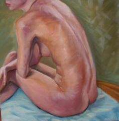 Life Painting - last day of summer term. - click here to see an enlargement
