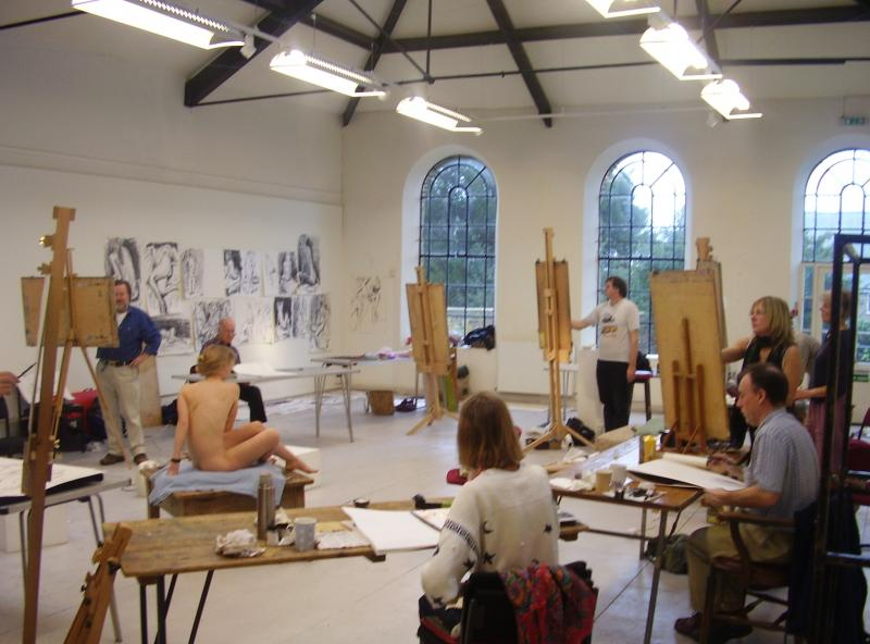Abbotsbury Studio - painting and drawing art classes